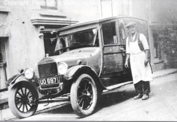 Lakeman's Van 1928.